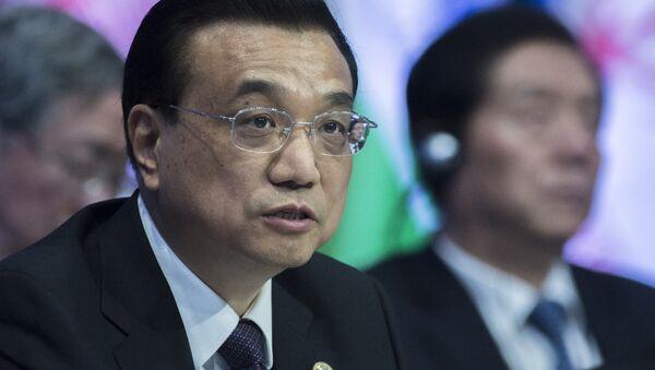 Premiér Čínské lidové republiky Li Kche-čchiang - Sputnik Česká republika