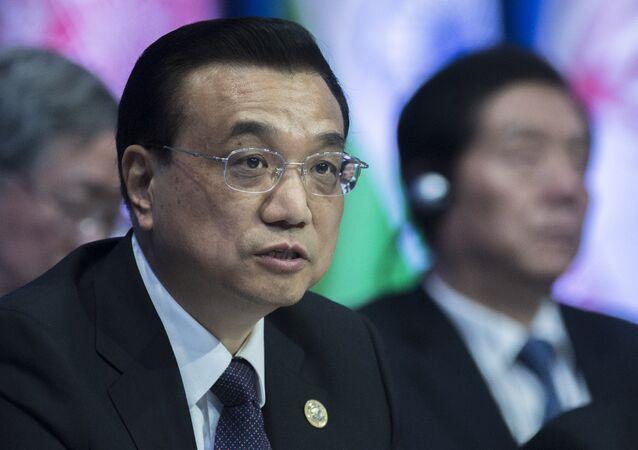 Premiér Čínské lidové republiky Li Kche-čchiang