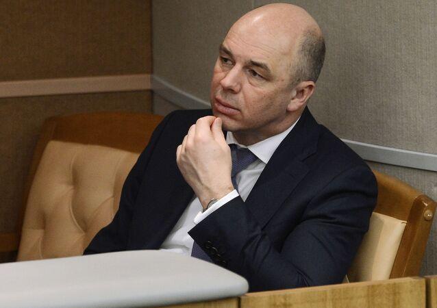 Ruský ministr financí Anton Siluanov