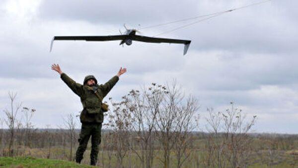 Demonstrace dronů - Sputnik Česká republika