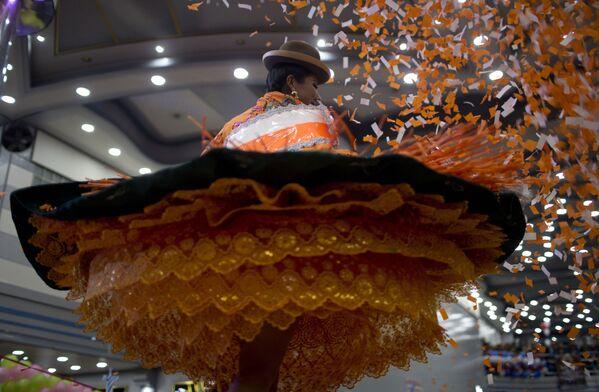 Takhle se tančí Morenada: V Bolívii si zvolili královnu festivalu Great Power - Sputnik Česká republika