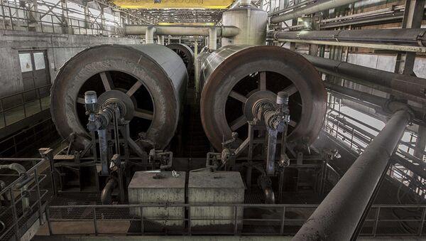 Těžba železné rudy. Ilustrační foto - Sputnik Česká republika