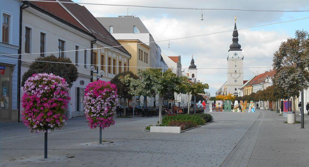 Město Trnava na Slovensku