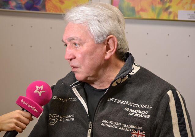 Český herec a moderátor Jiří Krampol.