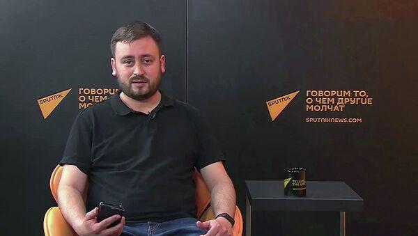 Šéfredaktor Sputniku Litva Marat Kasem  - Sputnik Česká republika