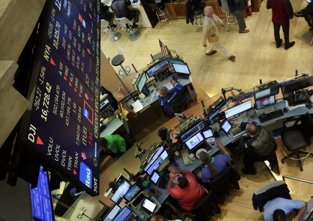 Newyorská bruza cenných papírů. Ilustrační foto