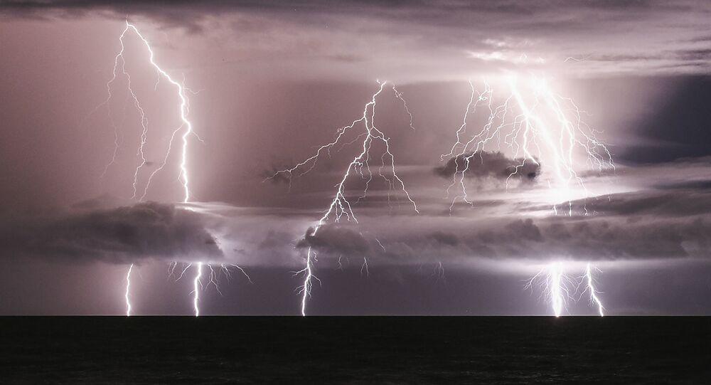 Bouřka. Ilustrační foto