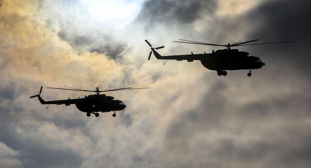 Ukrajinské vrtulníky Mi-8