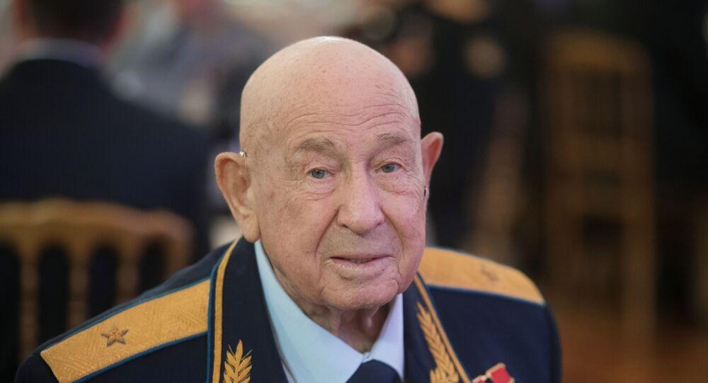Sovětský kosmonaut Alexej Leonov