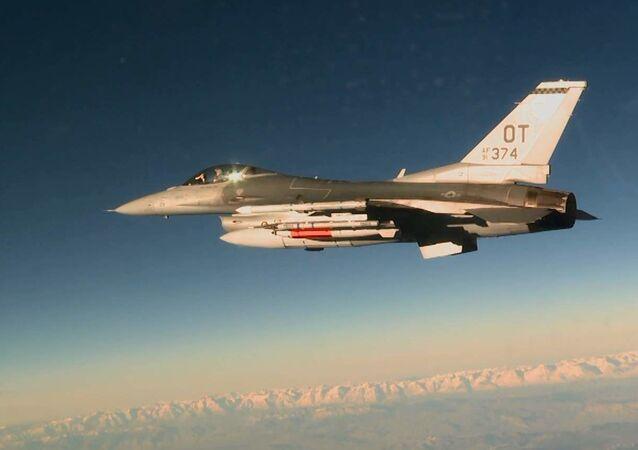 Americký stíhací letoun F-16C