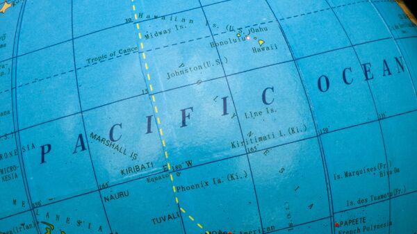 Globus. Tichý oceán. Ilustrační foto - Sputnik Česká republika