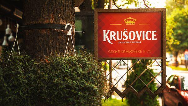 Krušovice, reklama. - Sputnik Česká republika