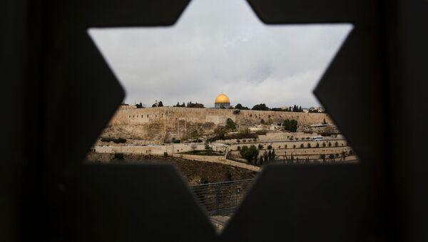Výhled na chrámovou horu v Jeruzalémě - Sputnik Česká republika