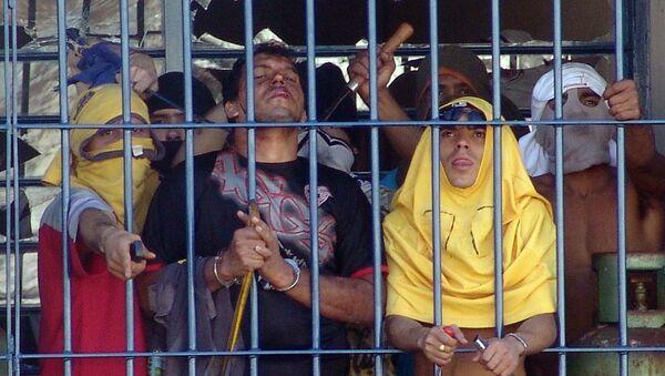 Šokující video. Masový masakr v brazilských věznicích  - Sputnik Česká republika