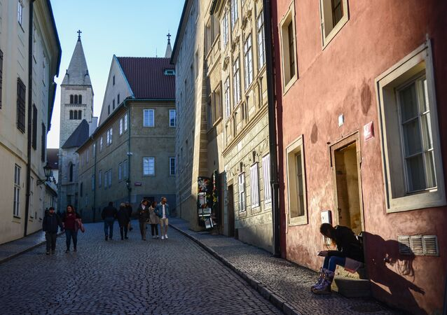 Jedna z pražských ulic