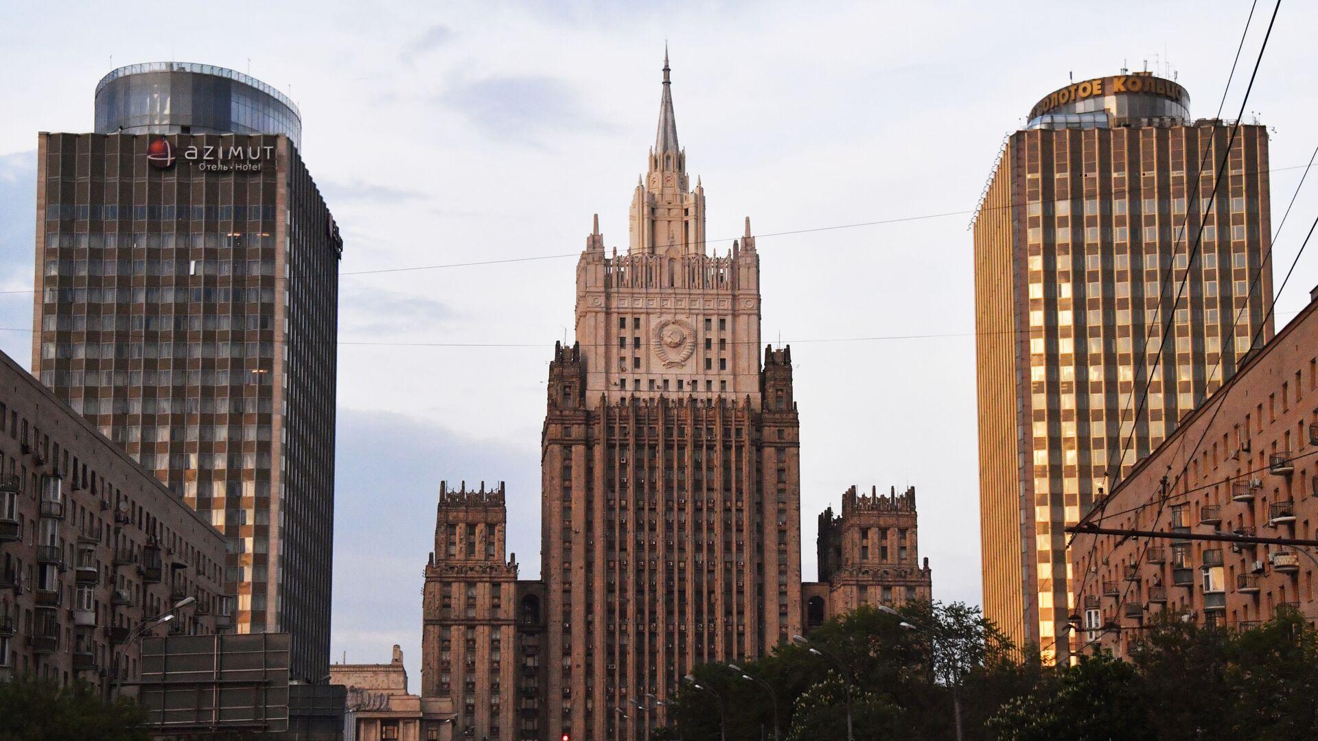 Budova Ministerstva zahraničních věcí Ruska - Sputnik Česká republika, 1920, 22.04.2021