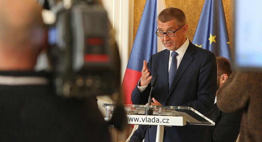Český premiér Andrej Babiš