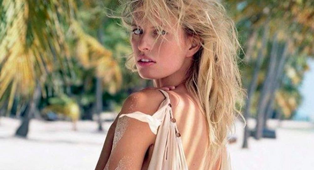 Česká modelka Karolína Kurková