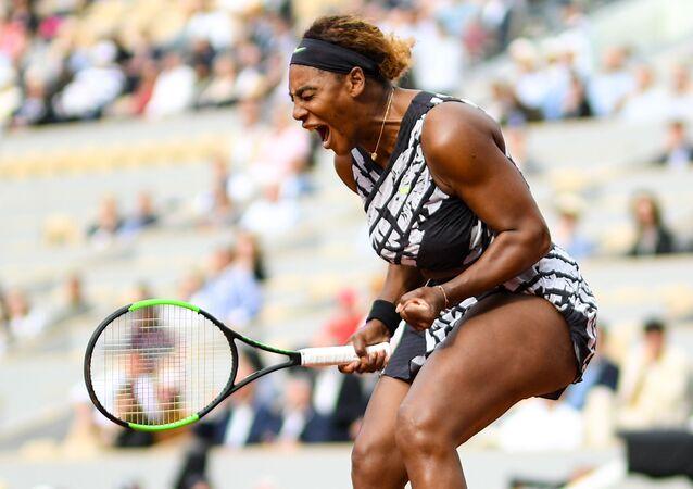 Američanka Serena Williamsová na French Open