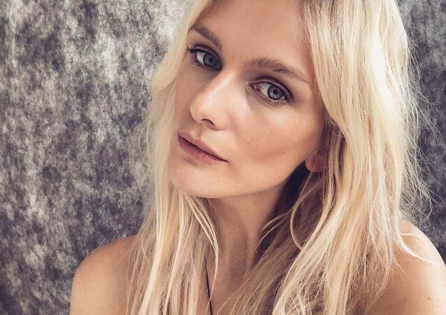 Česká modelka Zuzana Stráská