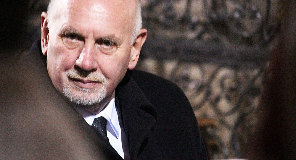 Předseda Ústavního soudu České republiky Pavel Rychetský