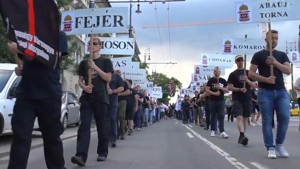 Smutek pro Maďarsko a radost pro Československo. Bolest Maďarska, která trvá už 99 let (VIDEO)    - Sputnik Česká republika