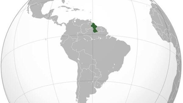 Guyana na mapě světa - Sputnik Česká republika