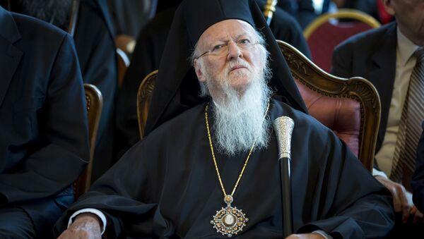 Konstantinopolský patriarcha Bartoloměj I - Sputnik Česká republika