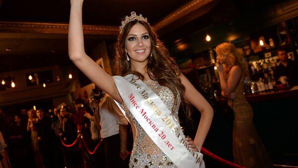 Miss Moskva 2015 Oxana Vojevodina - Sputnik Česká republika