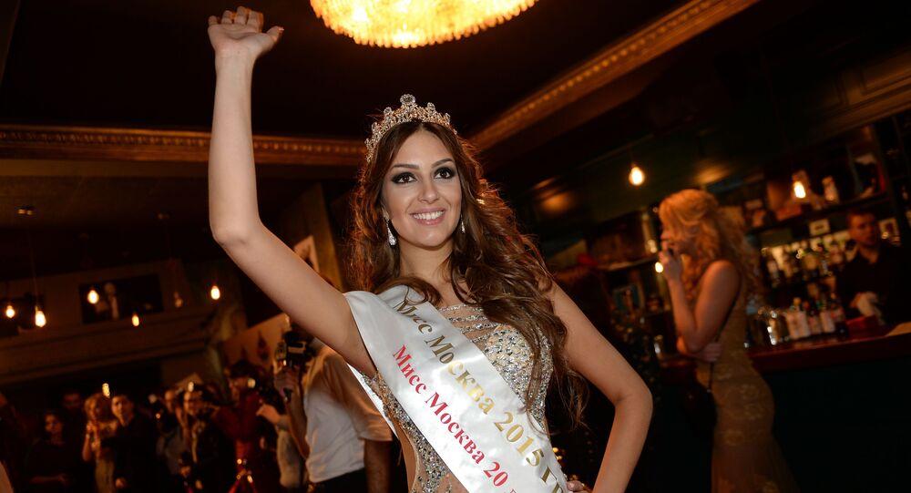 Miss Moskva 2015 Oxana Vojevodina