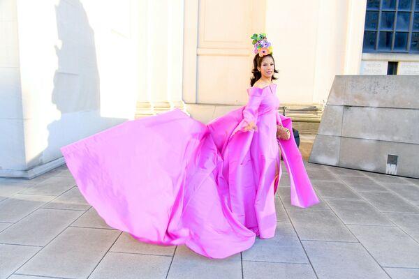 Modelka Veronica Webb na slavnostním udělování módních cen CFDA Fashion Awards. - Sputnik Česká republika