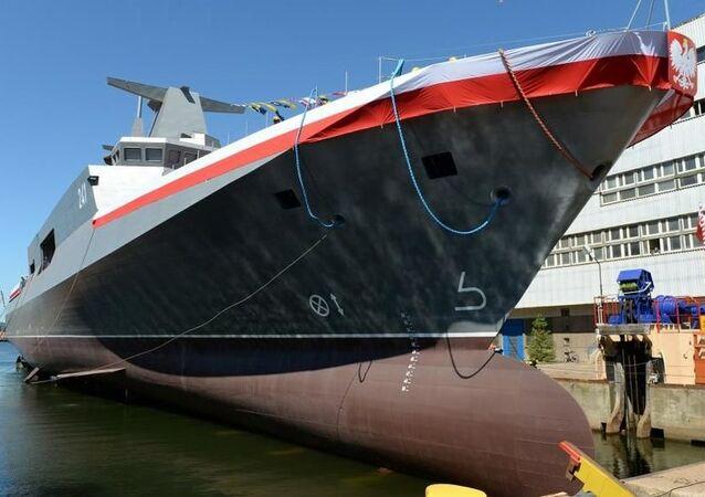 Polský hlídkový člun ORP Ślązak