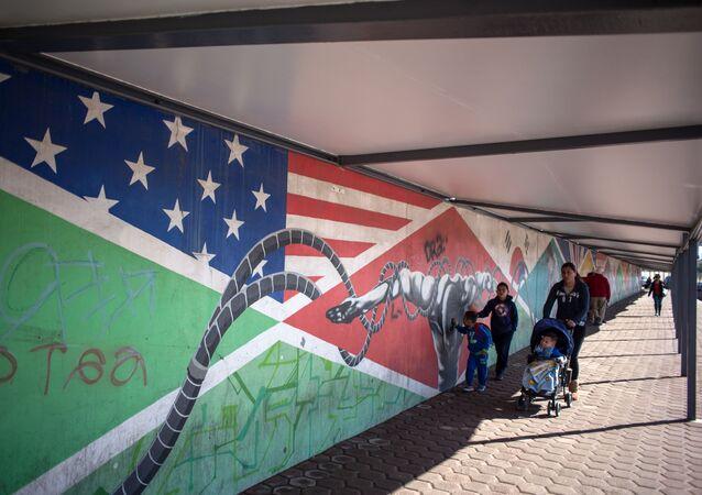 Mexicko-americká hranice