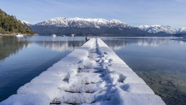 Sněhová pokrývka na jihu Argentiny - Sputnik Česká republika
