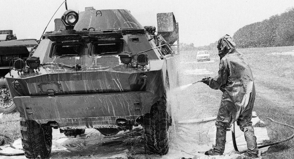 Dezaktivace vojenské techniky při likvidaci následků výbuchu 4. bloku Černobylské jaderné elektrárny