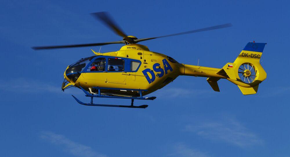 Vrtulník záchranářů