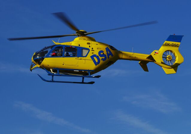 Vrtulník ambulance