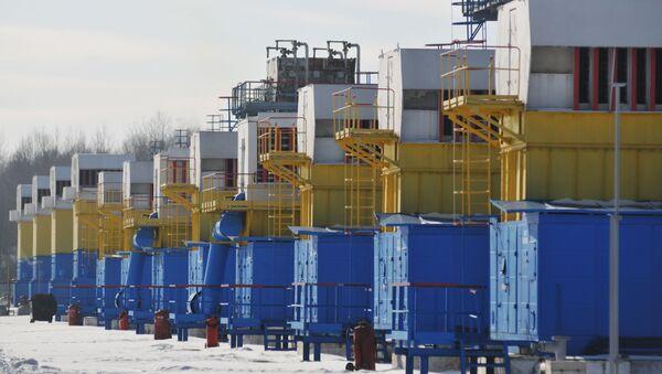 Zásobníky plynu na Ukrajině - Sputnik Česká republika