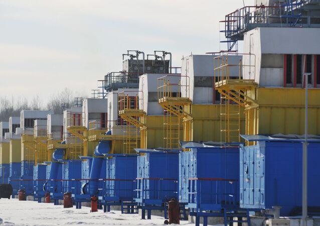 Zásobníky plynu na Ukrajině
