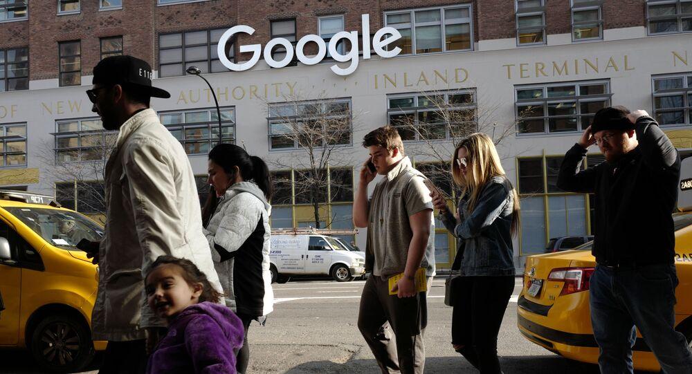 Kancelář Google v New Yorku