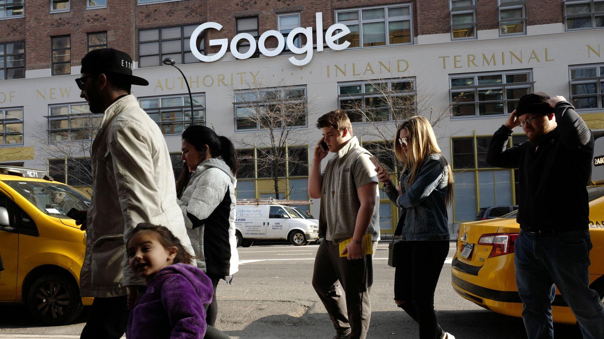 Kancelář Google v New Yorku - Sputnik Česká republika, 1920, 30.05.2021