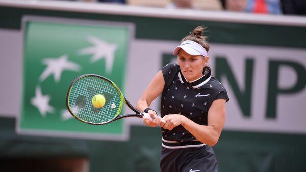 Markéta Vondroušová v semifinále Roland Garros proti Johanně Kontaové - Sputnik Česká republika