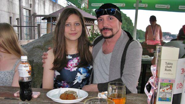 Bohuš Matuš s přítelkyní Lucií - Sputnik Česká republika