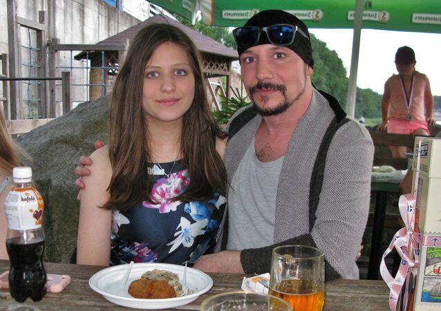 Bohuš Matuš s přítelkyní Lucií