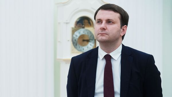 Ministr ekonomického rozvoje Ruské federace Maxim Oreškin - Sputnik Česká republika
