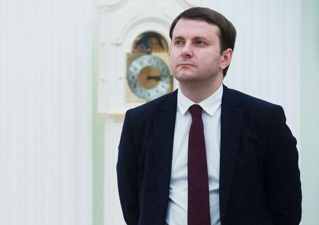 Ministr ekonomického rozvoje Ruské federace Maxim Oreškin