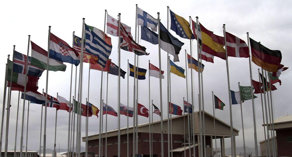 Vlajky členských zemí NATO