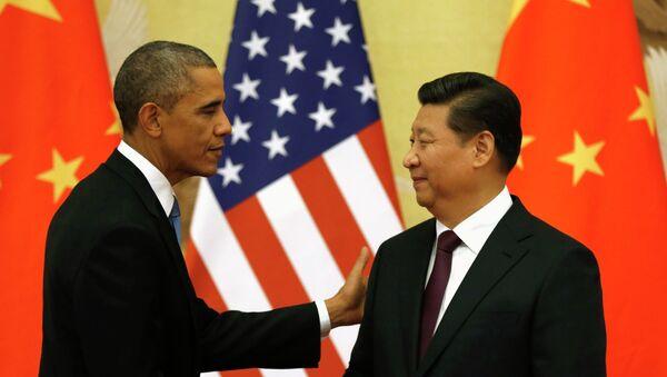 Barack Obama a Si Ťin-pching - Sputnik Česká republika