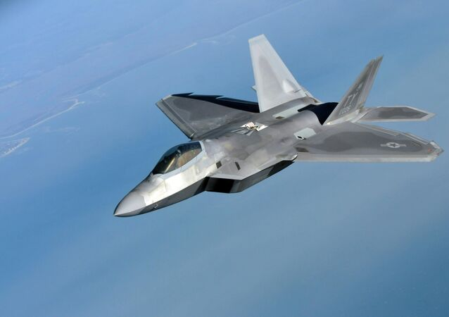 F-22 Raptor. Ilustrační foto