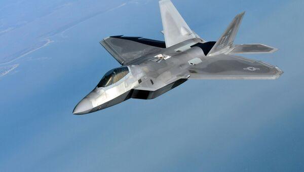 F-22 Raptor. Ilustrační foto - Sputnik Česká republika